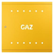 DRZWI GAZOWE 600 RAL 1023 DG60z ŻÓLTE