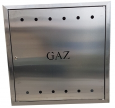DRZWI GAZOWE INOX 60x60x25 C