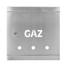 DRZWI GAZOWE 250 INOX DG25x