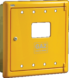 DRZWI GAZOWE KEN R-55 520x520 RÓŻNE KOLORY