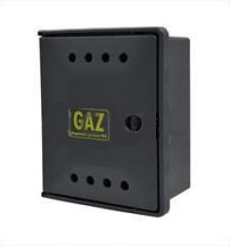 SKRZYNKA GAZ.25x30x15 POLIPROPYLEN GRAFIT