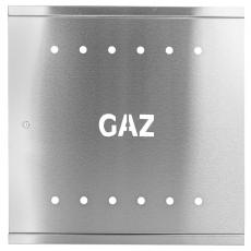DRZWI GAZOWE 600 RAL 1023 DG60x INOX