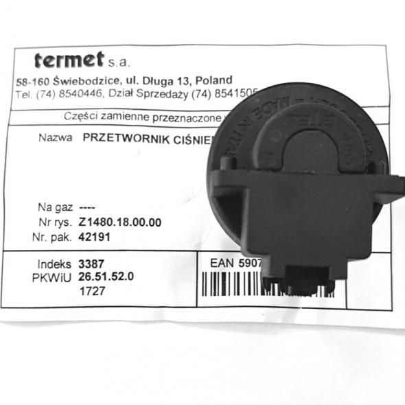 PRZETWORNIK CINIENIA Z1480180000 - Zdjcie 1