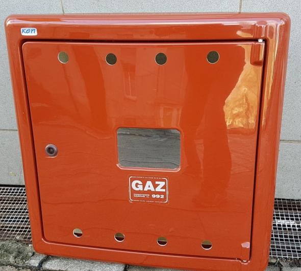 DRZWI GAZOWE KEN R-55 520x520 RNE KOLORY  - Zdjcie 3