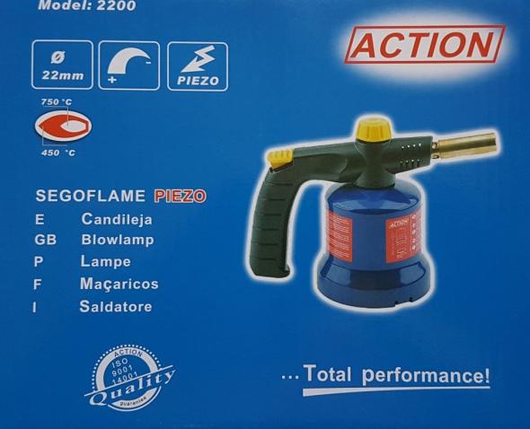 PALNIK LAMPA LUTOWNICZA ACTION 2200 - Zdjcie 1
