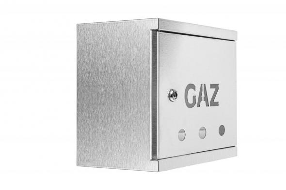 SKRZYNKA GAZOWA 250x250x200 INOX SG25-20x - Zdjcie 1