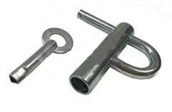 Kdka energetyczna ocynkowana z kluczykiem - Zdjcie 1