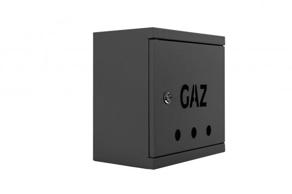 SKRZYNKA GAZOWA 25x25x15 RAL 7016 SG25-15g GRAFIT - Zdjcie
